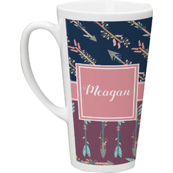 Tribal Arrows Latte Mug (Personalized)