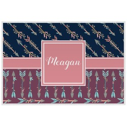 Tribal Arrows Placemat (Laminated) (Personalized)