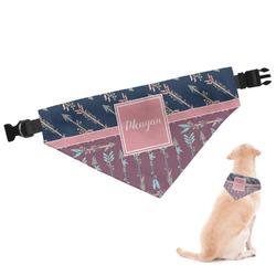 Tribal Arrows Dog Bandana (Personalized)