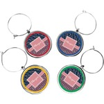 Tribal Arrows Wine Charms (Set of 4) (Personalized)