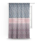 Tribal Arrows Sheer Curtains (Personalized)
