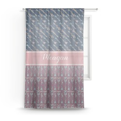 "Tribal Arrows Sheer Curtain - 50""x84"" (Personalized)"