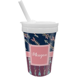 Tribal Arrows Sippy Cup with Straw (Personalized)