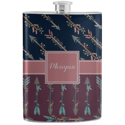 Tribal Arrows Stainless Steel Flask (Personalized)