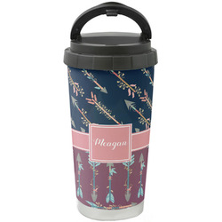 Tribal Arrows Stainless Steel Travel Mug (Personalized)