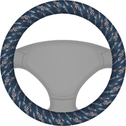 Tribal Arrows Steering Wheel Cover (Personalized)
