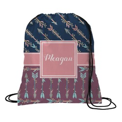Tribal Arrows Drawstring Backpack (Personalized)