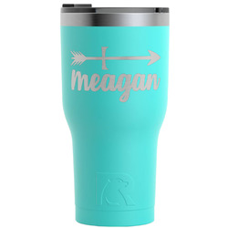 Tribal Arrows RTIC Tumbler - Teal - 30 oz (Personalized)