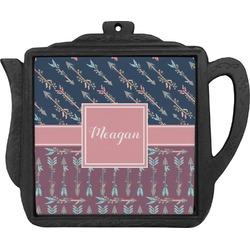 Tribal Arrows Teapot Trivet (Personalized)