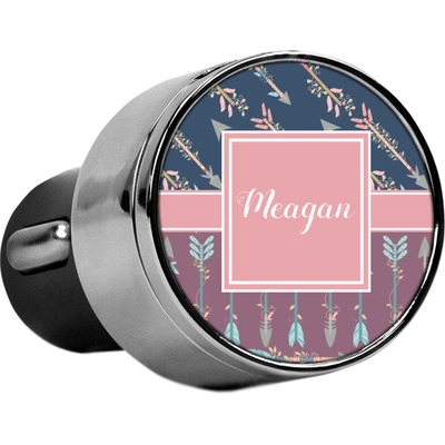 Tribal Arrows USB Car Charger (Personalized)
