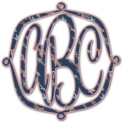 Tribal Arrows Monogram Decal - Small (Personalized)