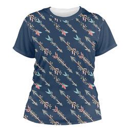 Tribal Arrows Women's Crew T-Shirt (Personalized)