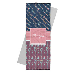 Tribal Arrows Yoga Mat Towel (Personalized)