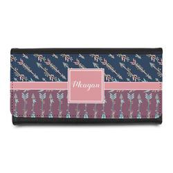 Tribal Arrows Leatherette Ladies Wallet (Personalized)