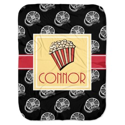 Movie Theater Baby Swaddling Blanket (Personalized)
