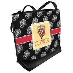 Movie Theater Beach Tote Bag (Personalized)