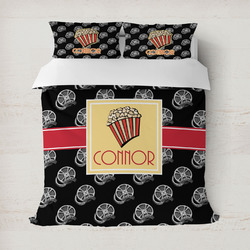 Movie Theater Duvet Cover (Personalized)