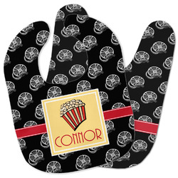Movie Theater Baby Bib w/ Name or Text