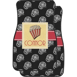 Movie Theater Car Floor Mats (Front Seat) (Personalized)