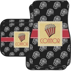 Movie Theater Car Floor Mats (Personalized)