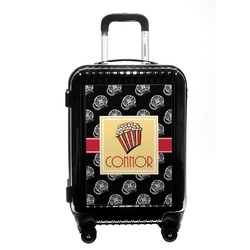 Movie Theater Carry On Hard Shell Suitcase (Personalized)