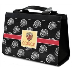 Movie Theater Classic Tote Purse w/ Leather Trim (Personalized)