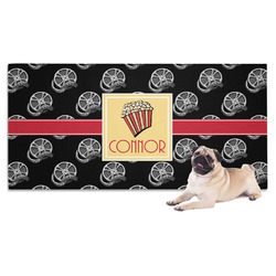 Movie Theater Dog Towel w/ Name or Text