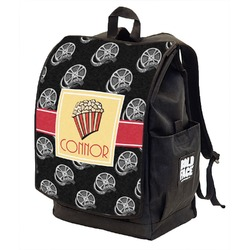 Movie Theater Backpack w/ Front Flap  (Personalized)