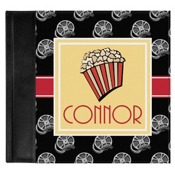 Movie Theater Genuine Leather Baby Memory Book (Personalized)