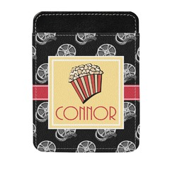 Movie Theater Genuine Leather Money Clip (Personalized)