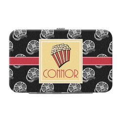 Movie Theater Genuine Leather Small Framed Wallet (Personalized)