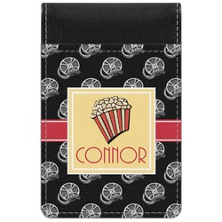 Movie Theater Genuine Leather Small Memo Pad (Personalized)
