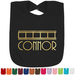 Movie Theater Foil Toddler Bibs (Select Foil Color) (Personalized)