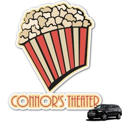 Movie Theater Graphic Car Decal (Personalized)