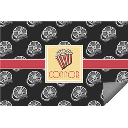 Movie Theater Indoor / Outdoor Rug (Personalized)