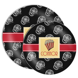 Movie Theater Melamine Plate (Personalized)