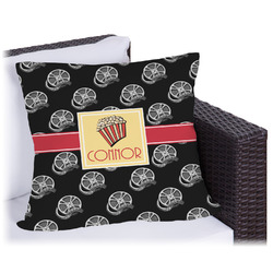 Movie Theater Outdoor Pillow (Personalized)