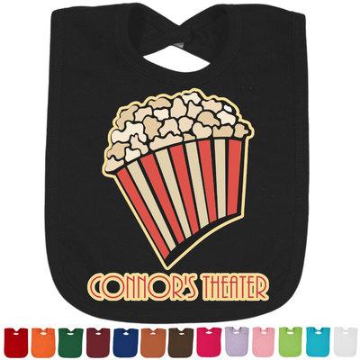 Movie Theater Baby Bib - 14 Bib Colors (Personalized)