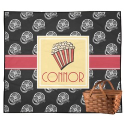 Movie Theater Outdoor Picnic Blanket (Personalized)