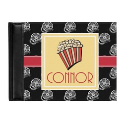 Movie Theater Genuine Leather Guest Book (Personalized)
