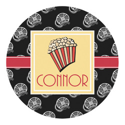 Movie Theater Round Decal (Personalized)