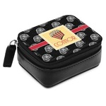 Movie Theater Small Leatherette Travel Pill Case (Personalized)