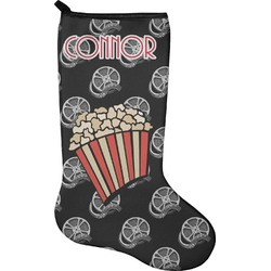 Movie Theater Christmas Stocking - Neoprene (Personalized)