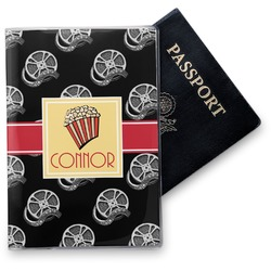 Movie Theater Vinyl Passport Holder (Personalized)