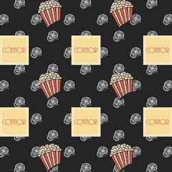 Movie Theater Wrapping Paper (Personalized)