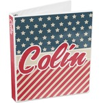 Stars and Stripes 3-Ring Binder (Personalized)