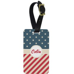 Stars and Stripes Aluminum Luggage Tag (Personalized)