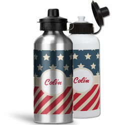Stars and Stripes Water Bottles- Aluminum (Personalized)