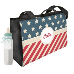 Stars and Stripes Diaper Bag (Personalized)