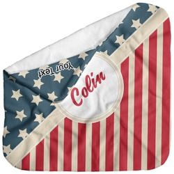 Stars and Stripes Baby Hooded Towel (Personalized)